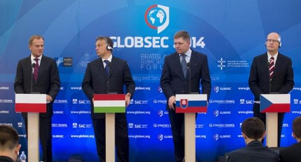 Foto: Setkání V4 v roce 2014. / premier.gov.pl