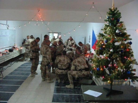 Foto: Někteří čeští vojáci budou slavit v Afghánistánu. / army.cz