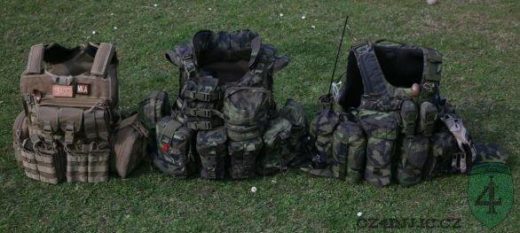 taktické vesty