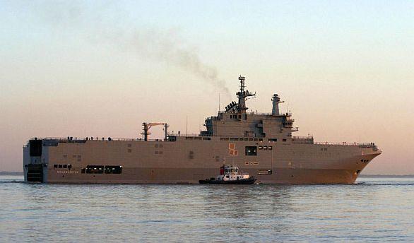 Foto: Vladivostok vyplouvá na moře. / DCNS