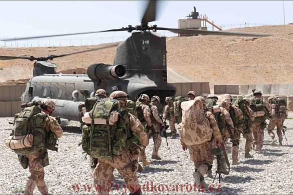 Vojáci Afghánistán