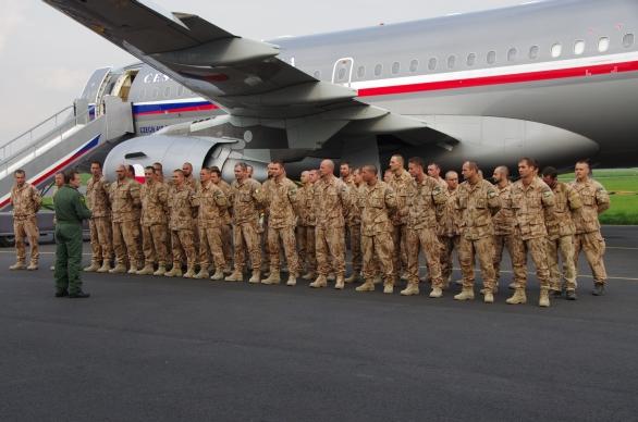 Čeští vojáci Bagram