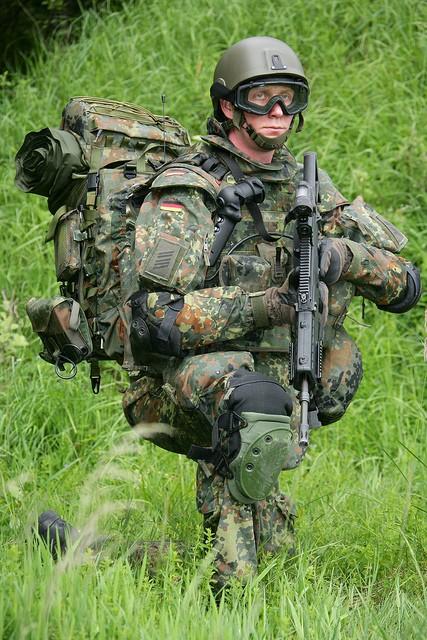 Německý voják budoucnosti Gladius