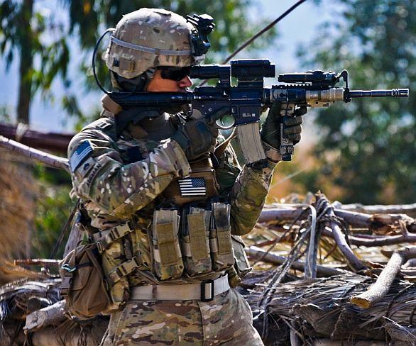 Americký voják M4