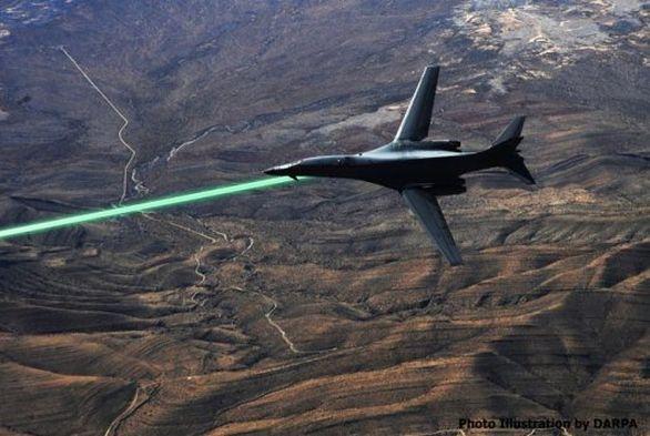 Letadlo laser