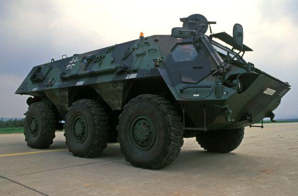 Foto: Podle nepotvrzených informací se základem německé-polského stroje stane vozidlo Fuchs-2; větší foto / Public Domain