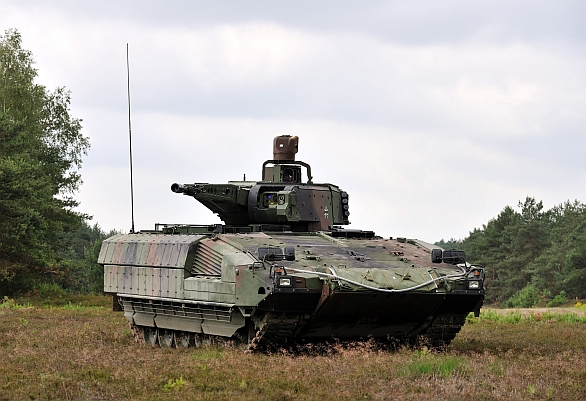 Foto: Bojové vozidlo pěchoty Puma. / KMW