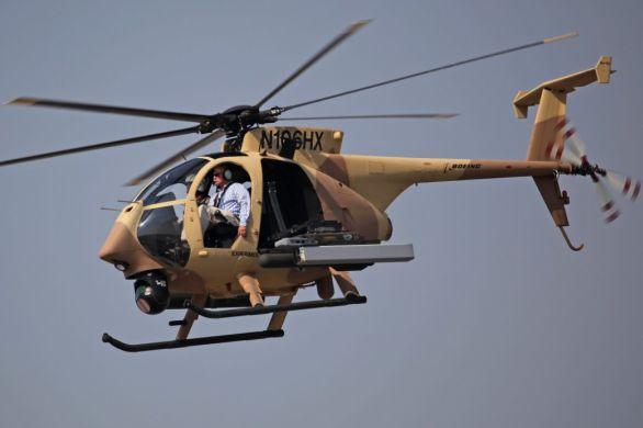 Vrtulník AH-6I