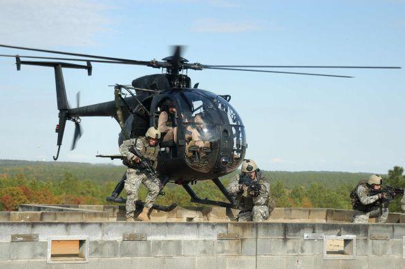 Vrtulník MH-6