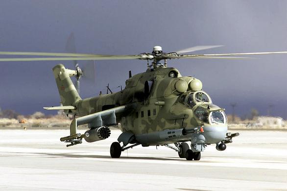 abbcfdc61 Foto: Mi-24 s podvěšenou výzbrojí , Las Vegas / Wikipedia, US Air Force