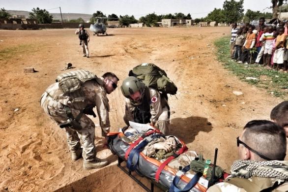 Nácvik Medevac, Mali 2013