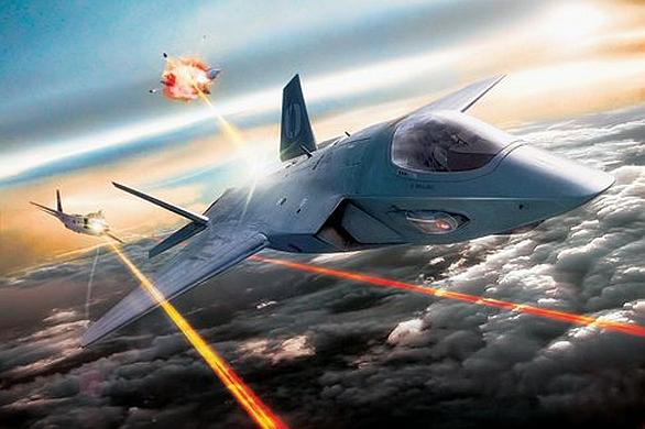 Foto: Vize vzdušného boje pomocí laserových zbraní; ilustrační foto / U.S. Air Force