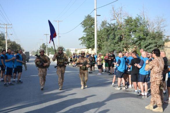 Foto: Na padlé vzpomínali v Afghánistánu. / army.cz