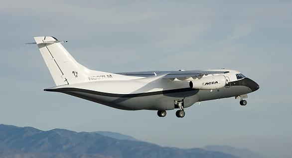 Foto: Lockheed Martin X-55 ACCA (Advanced Composite Cargo Aircraft); větší foto /  Lockheed Martin