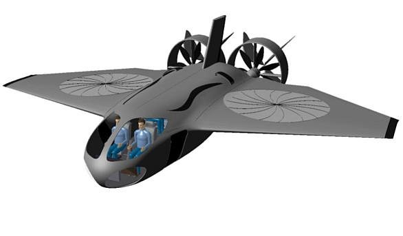 Letadlo s kolmým startem XV-58 Manta