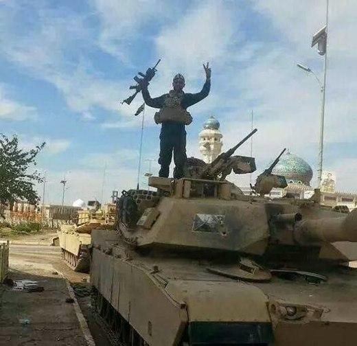 M1A1 Abrams v rukou povstalců