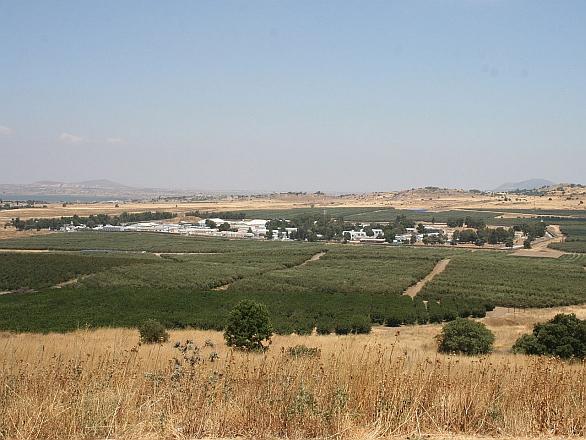Foto: Základna UNDOF nedaleko provincie  Quneitra. / Imrich, CC BY 3.0