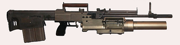 Zbraň zvláštního poslání SPIW (Special Purpose Individual Weapon)