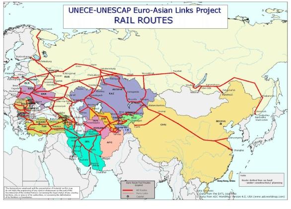 Úsek vedoucí územím Kyrgyzstánu měří všehovšudy 260 kilometrů, je však strategicky významný, neboť kvůli hornatému reliéfu regionu je v podstatě nezbytný. Od začátku projektu Biškek už několikrát přehodnotil odhad nákladů na stavbu svého úseku, takže zatímco ještě před 16 lety byla jeho cena stanovena na 1,4 miliardy dolarů, dnes už se mluví o 3,5 až 4,5 miliardy. I přes vytrvalý tlak Číny se navíc dosud vůbec nezačalo se stavebními pracemi, přestože se na tom obě strany dohodly už v roce 2001. Vše tak poukazuje na to, že Kyrgyzstán dosud nemá vytvořený reálný rozpočet, anebo pokud ano, pak je silně prodchnut korupcí. Zdroj: http://ceskapozice.lidovky.cz/vznika-alternativa-transsibirske-magistraly-fon-/tema.aspx?c=A120415_052232_pozice_63471